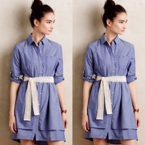Isabel Sinclair Anthropologie Chambray Dress